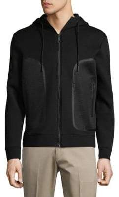 Antony Morato Fleece Hooded Jacket