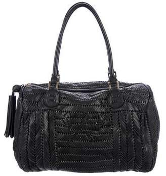 Anya Hindmarch Woven Leather Sydney Bag