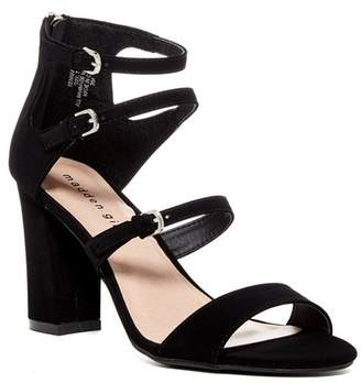 Madden Girl Rennaa Strappy Block Heel Sandal $49 thestylecure.com