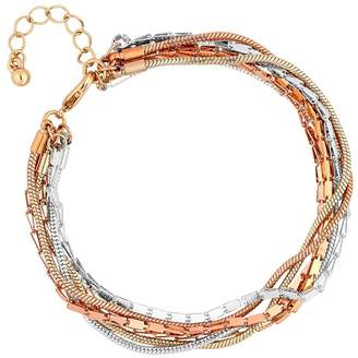 J by Jasper Conran Gold And Silver Multi Chain Bracelet