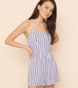 Garage Open Back Romper