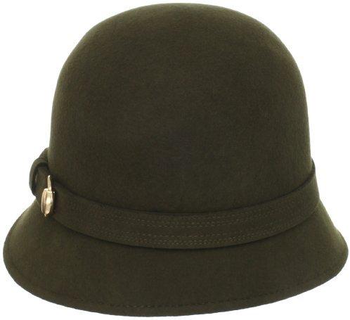 San Diego Hat Company San Diego Hat Women's 100% Wool Buckle Cloche Hat