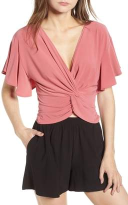 Leith Knot Front Top