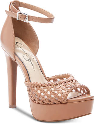 bc119b64595 Jessica Simpson Beeya Two-Piece Platform Sandals
