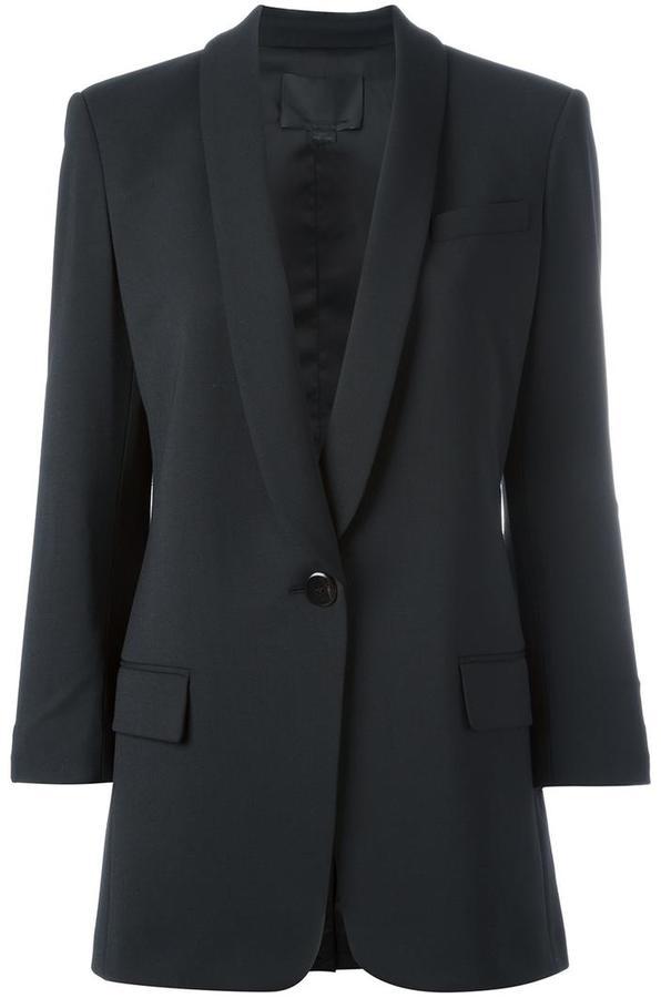 Alexander WangAlexander Wang shawl lapel blazer