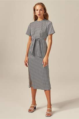 C/Meo Collective PROVIDED DRESS black houndstooth