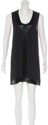 Alice + Olivia Beaded Silk Dress