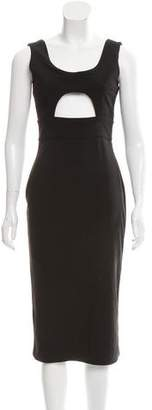 SOLACE London Cutout Midi Dress w/ Tags