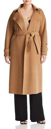 Marina Rinaldi Trionfo Wool Trench Coat