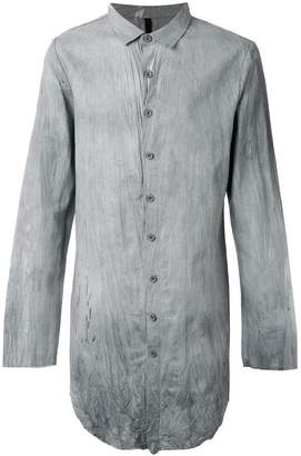 Army Of Me crumpled long shirt