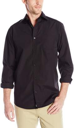Lee Uniforms Men's Long Sleeve Dress Shirt