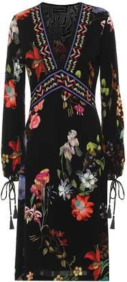 Etro Printed crepe midi dress