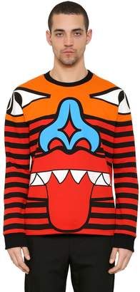 Givenchy Totem Patchwork Cotton Sweatshirt