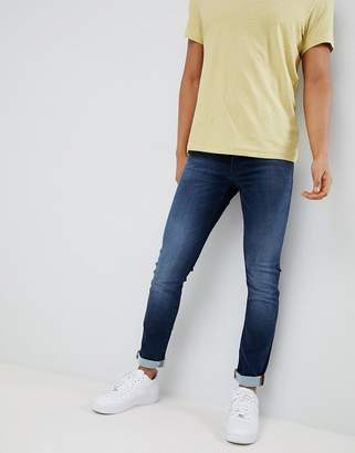 BOSS Skinny Fit Used Wash Jeans
