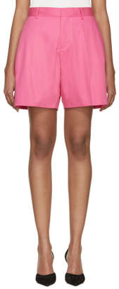 DSQUARED2 Fuchsia Loe Kawaii Shorts
