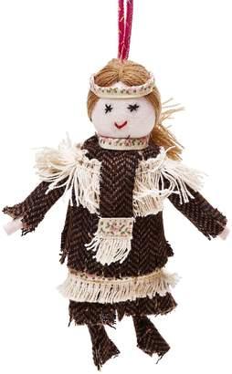ABC Home Native American Doll Ornament