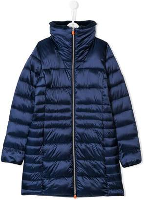 Save The Duck Kids TEEN padded long coat