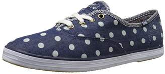 Keds Women's Taylor Swift Dot Denim Fashion Sneaker $22.02 thestylecure.com