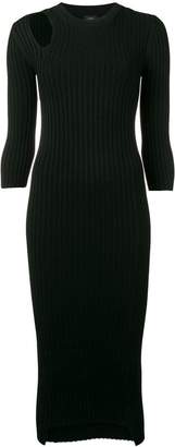 Joseph ribbed knit sweater dress