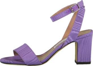 Tabitha Simmons Purmoir Satin Block Heel Sandal