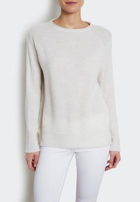 INHABIT - Cashmere Mariner Crewneck Sweater $378 thestylecure.com