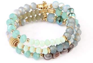 Riah Fashion Beaded Bracelet Set