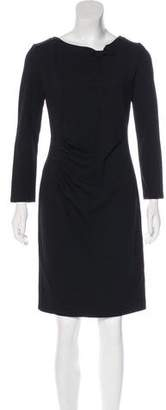 Armani Collezioni Knee-Length Ponte Dress