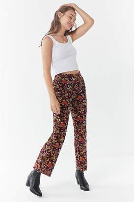 Urban Outfitters Cassie Corduroy Kick Flare Pant