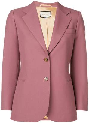 Gucci Melon fitted blazer