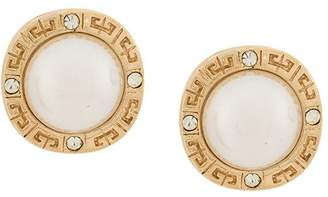 Givenchy Pre-Owned 1980's Greek key earrings