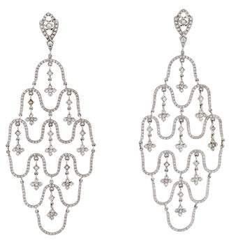 Loree Rodkin 18K Diamond Chandelier Earrings