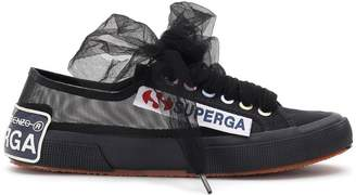 Marco De Vincenzo x Superga transparent sneakers