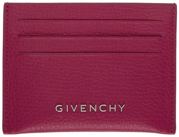 Givenchy Pink Pandora Card Holder