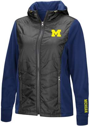 NCAA Unbranded Women's Michigan Wolverines Long-Sleeved Full Zip Jacket