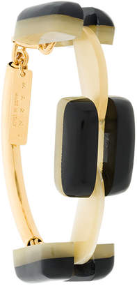 Marni chunky geometric bracelet