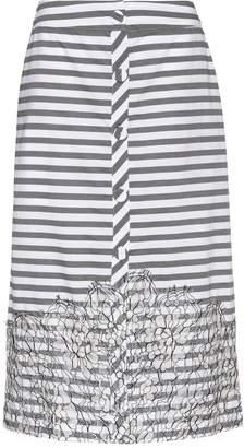 Johanna Ortiz Tanzania striped cotton skirt