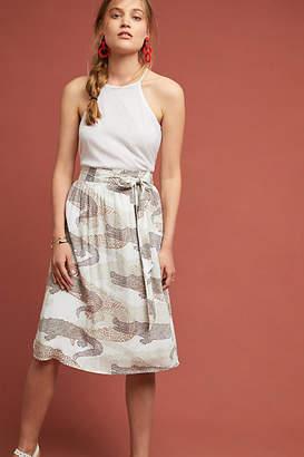 Porridge Getaway Printed Skirt