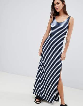 Vila Stripe Maxi Dress