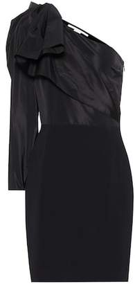 Stella McCartney Taffeta one-shoulder minidress