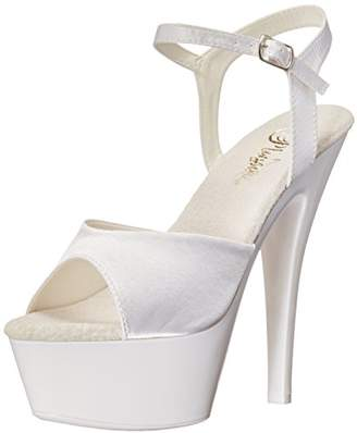 Pleaser USA Women's Kiss209uv/Wsa/NW Platform Dress Sandal
