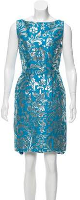 Christian Dior Floral Brocade Dress