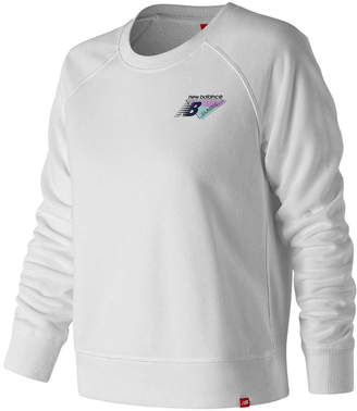 New Balance Womens Essentials 90s Crew Sweater