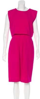 Christian Dior Layered Midi Dress