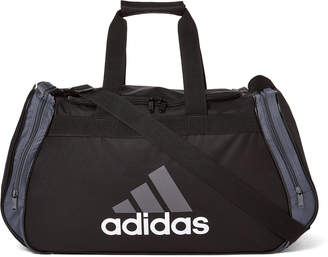 adidas Black & Storm Grey Diablo II Medium Duffel