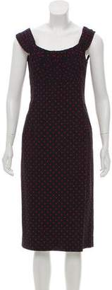 Michael Kors Polka Dot Sheath Dress w/ Tags