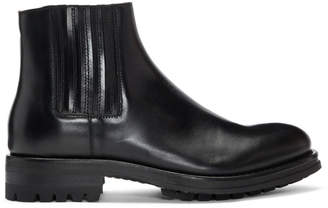 Tiger of Sweden Black Bonnist Chelsea Boots