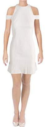 Vera Wang Women's Cold Shoulder Cocktail Dress