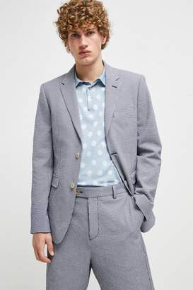 French Connection Seersucker Suiting Jacket