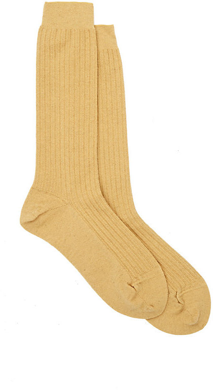 AntipastAntipast Women's Rib-Knit Mid-Calf Socks