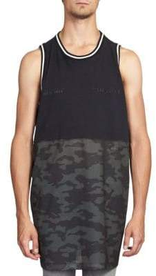 Taverniti So Ben Unravel Project Camo Mesh Racing Back Tank